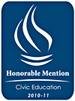 Civic Education - Honorable Mention 2010-2011